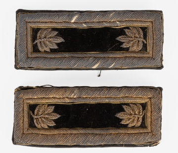 US Majors Civil War Era Shoulder Straps