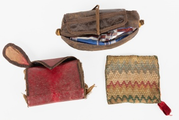 Civil War Era Pouches and Textiles