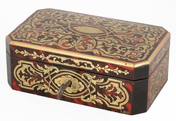 Boulle Inlaid Box