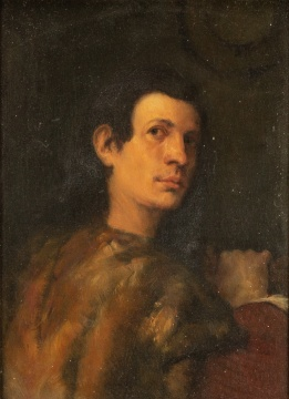 Old Masters Style Portrait of a Young Man after Giorgione / Palma Vecchio