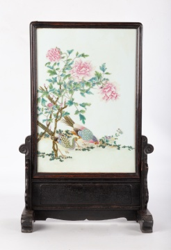 Chinese Porcelain Table Scene