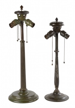 Duffner & Kimberly Bronze Lamp Bases