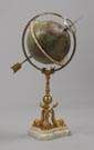 Rare Juvet Globe Table Top Clock