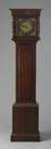 John Ball English Oak 1 Hand Tall Case