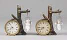 Ansonia Swinging Dolls, #2 Novelty Clocks
