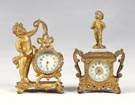 Novelty Gilt Clocks