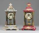 Ansonia Porcelain Crystal Regulators