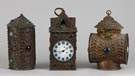 Bradley & Hubbard Parade Lantern Clock with 2 Lanterns