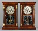 Davis Clock Co. Calendar Clocks