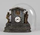 Unusual Mayert & French Automated German Clock