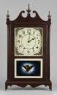 Seth Thomas Pillar & Scroll Clock, 20th Century