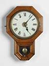 Seth Thomas Schoolhouse Wall Clock w/Alarm