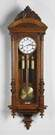 Vienna 3 Weight Regulator Wall Clock