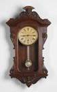 E. N. Welch Victorian Wall Clock