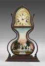 Fine & Rare J. C. Brown Acorn Shelf Clock