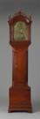Daniel Burnap, E. Windsor, CT, Chippendale Cherry Tall Case
