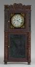 Asa Munger, Auburn, NY, Empire Shelf Clock