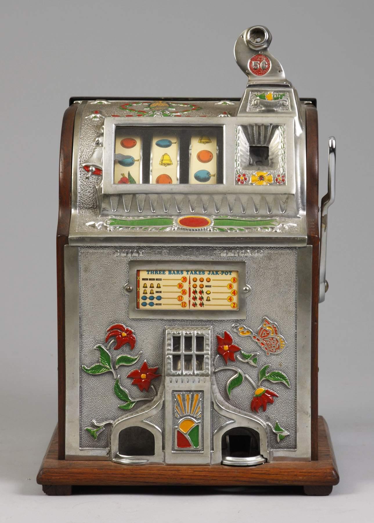 5 cent slot machine