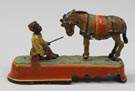 """Always Did Spies A Mule"" Mechanical Bank"