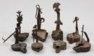 Group of Betty Wrought Iron Lamps
