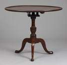Chippendale Mahogany Tea Table w/Molded Top