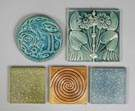 Group of Art Pottery Tiles