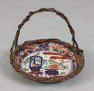 Imari Deep Dish w/Basket Handle