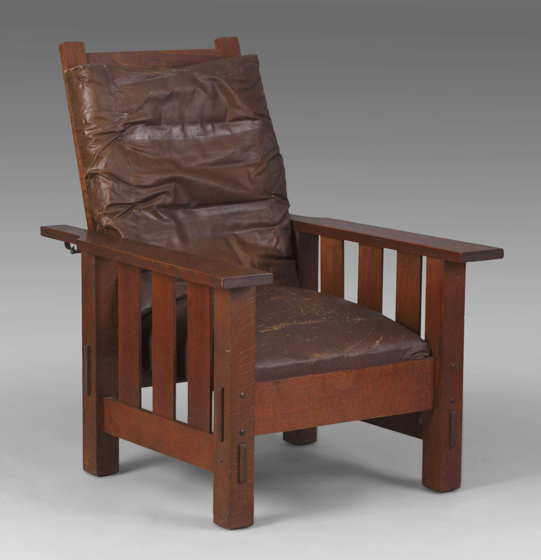 Arts and crafts furniture chair - Arts Crafts Morris Chair
