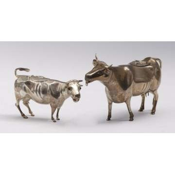 Continental Silver Cow Creamers