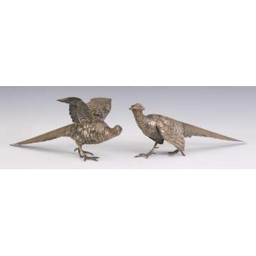 Centennial 800 Silver Table Pheasants