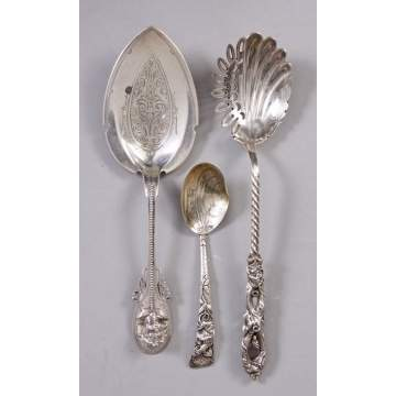 3 Sterling Serving Pieces