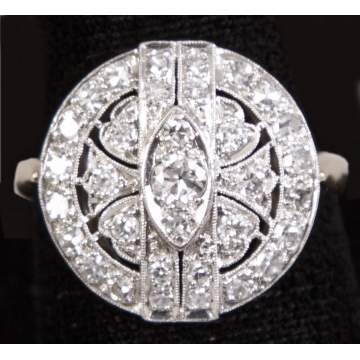 Ladies 14-K Two Tone Ring