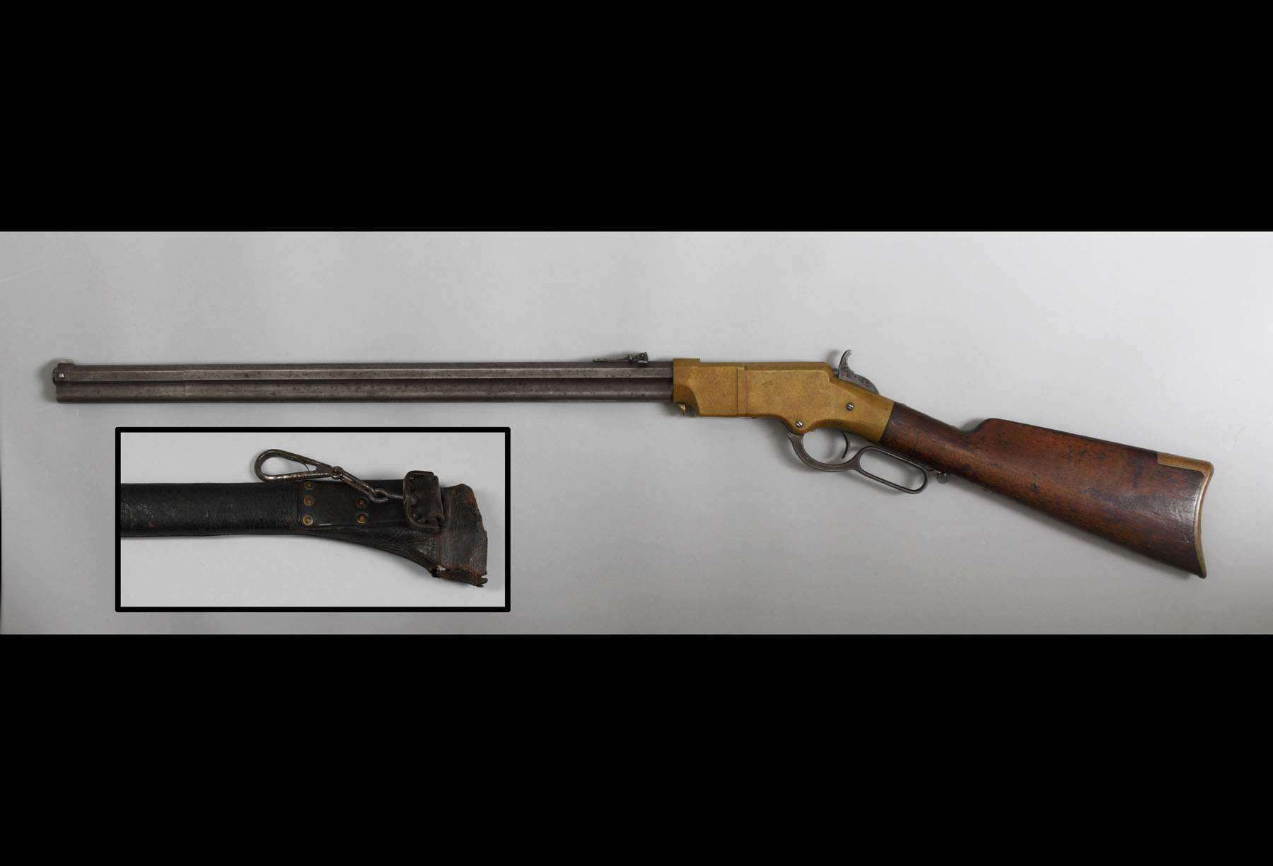 Henry Rifle, Martial Serial Number Range & Scabbard