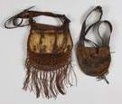 19th Century Leather Hunting Pouches