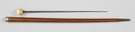 Sword Cane w/Ivory Top