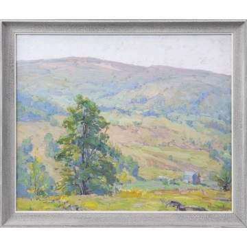 "George Renouard ""Hills Over Vermont"""