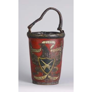 Painted Fire Bucket