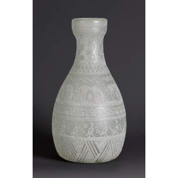 French Acid Cut-Back Vase