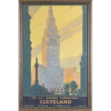 The New Union Terminal, Cleveland, Print