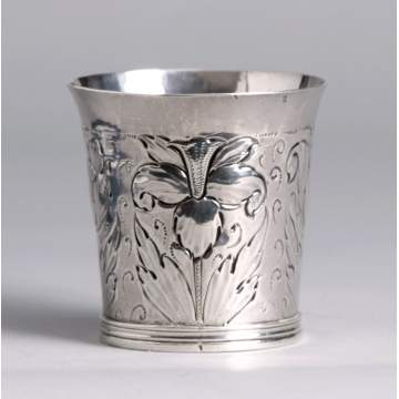 17th Cent. English Silver Beaker