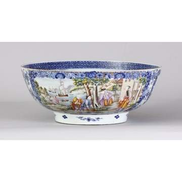 Fine 18th Cent. Chinese Export Bowl