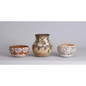 Group of Pots