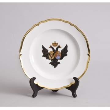 Set of 16 Russian Plates