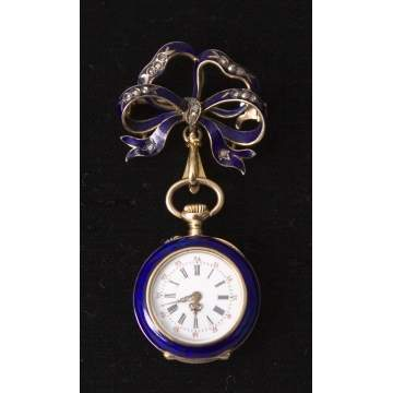 Victorian Ladies Pin/Watch