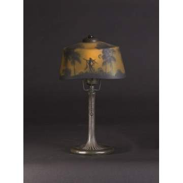 Handel/Pittsburgh Boudoir Lamp w/Fairy