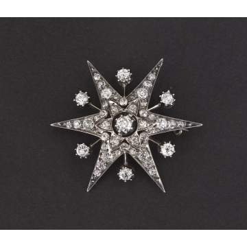 Star Diamond Pin