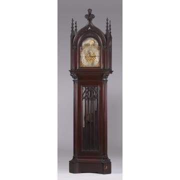 Herschede Hall Clock Co. Gothic Style Clock