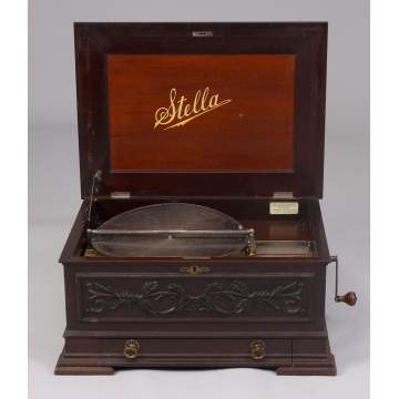 Stella Double Comb Music Box