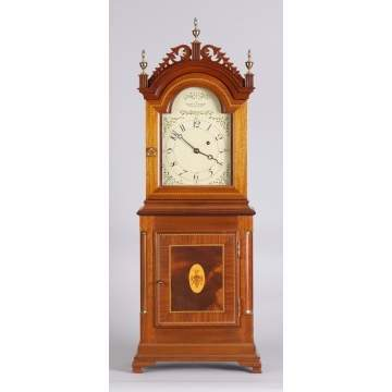 Foster S. Campos, Pembroke, Mass., Shelf Clock