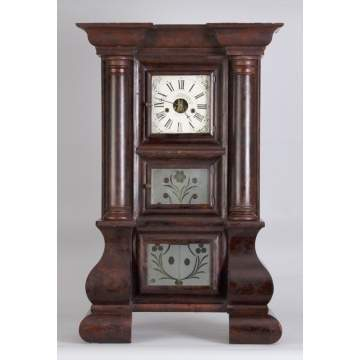 J. C. Brown Giant Empire, Bristol, Ct., Shelf Clock